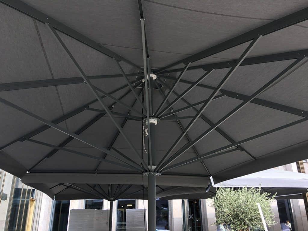 Τηλεσκοπική Επαγγελματική Ομπρέλα Queen XL - Συστηματα Σκιασης & Προστασιας Sunblock