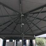 Τηλεσκοπικη Επαγγελματικη Ομπρελα Queen XL - Συστηματα Σκιασης & Προστασιας Sunblock