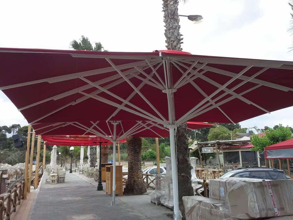 Telescopic Professional Umbrella Queen XL - Sunblock