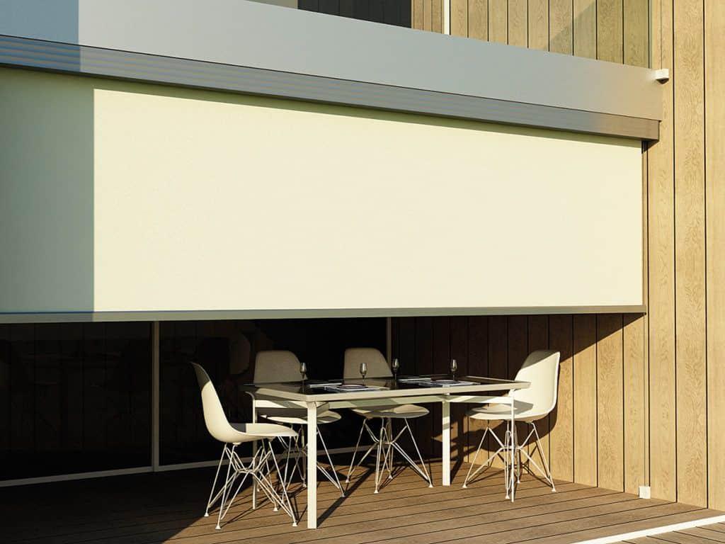 Κάθετη Τέντα Aire - Επαγγελματικά Συστήματα Σκίασης Προστασίας Sunblock