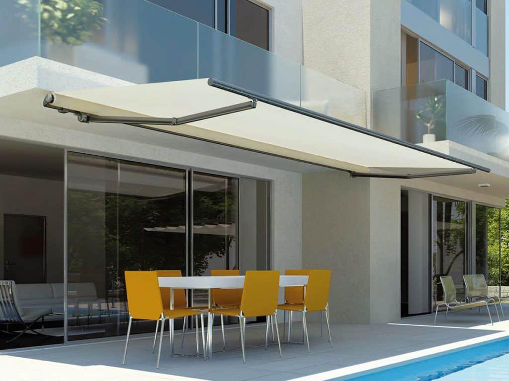 Τέντα Σε Μπάρα Stein - Τέντες επαγγελματικού οικιακού χώρου - Συστήματα Σκίασης Προστασίας Sunblock