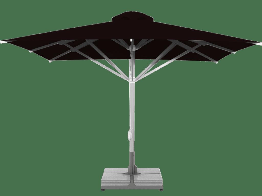 Professional Telescopic Umbrella Grand Extra Heavy - Type chocolat