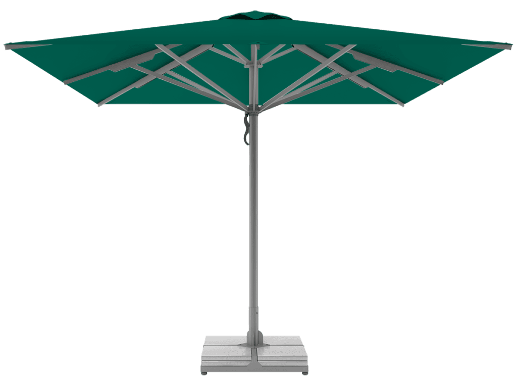 Telescopic Professional Umbrellas Queen Super Heavy Type vert