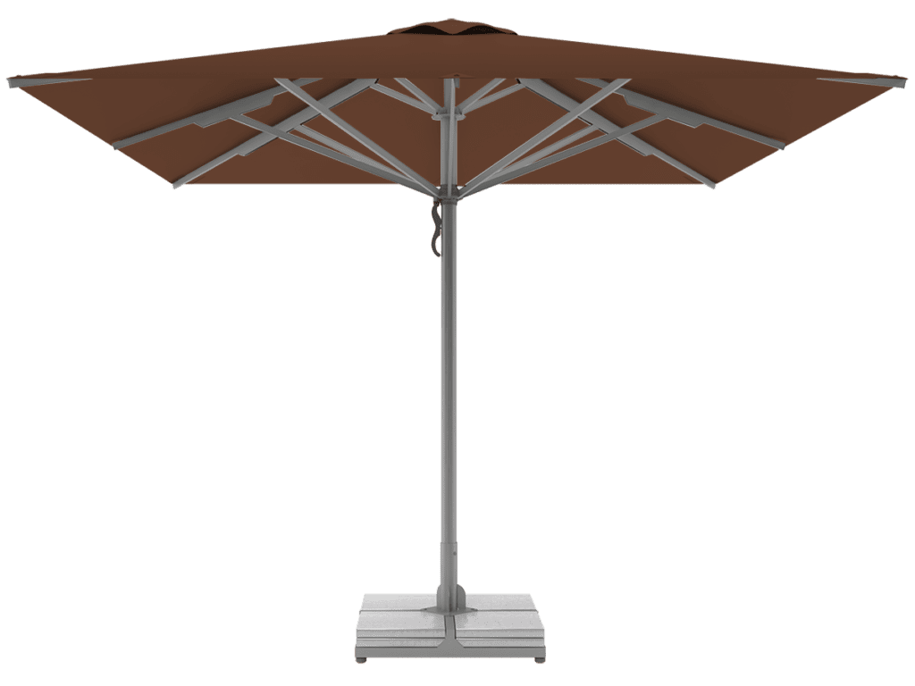Telescopic Professional Umbrellas Queen Super Heavy Type marron