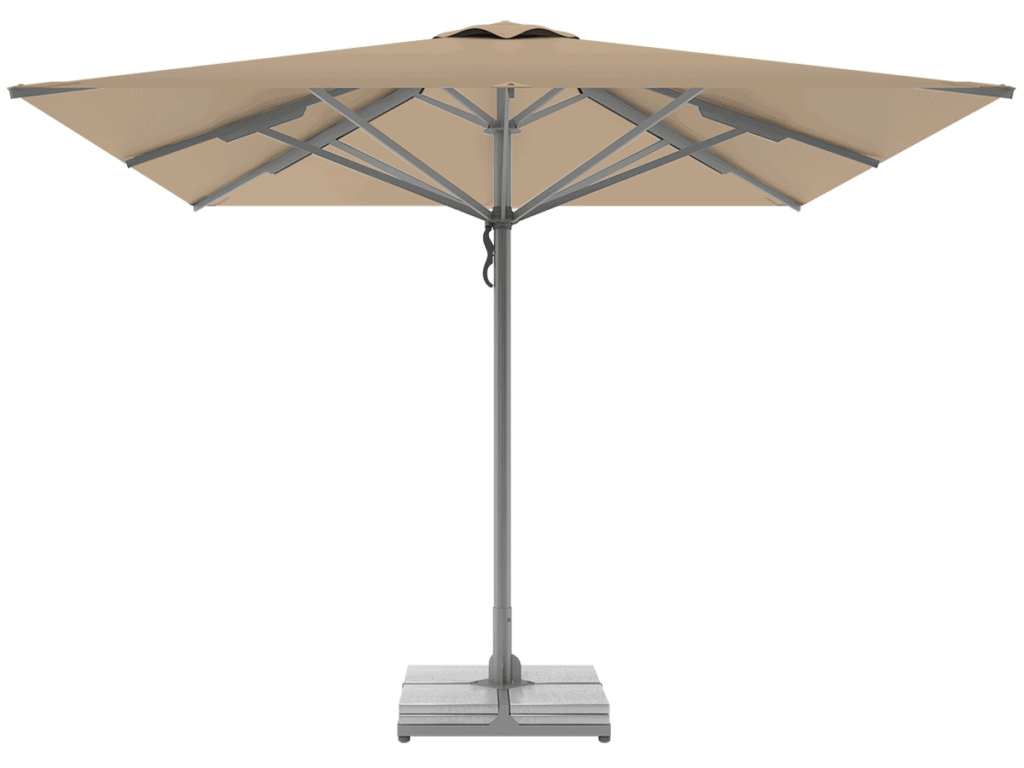 Telescopic Professional Umbrellas Queen Super Heavy Type dune