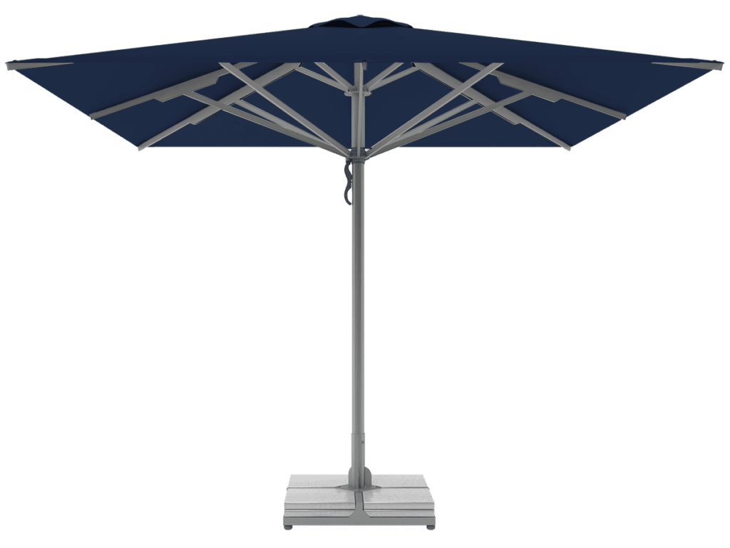 Telescopic Professional Umbrellas Queen Super Heavy Type marine