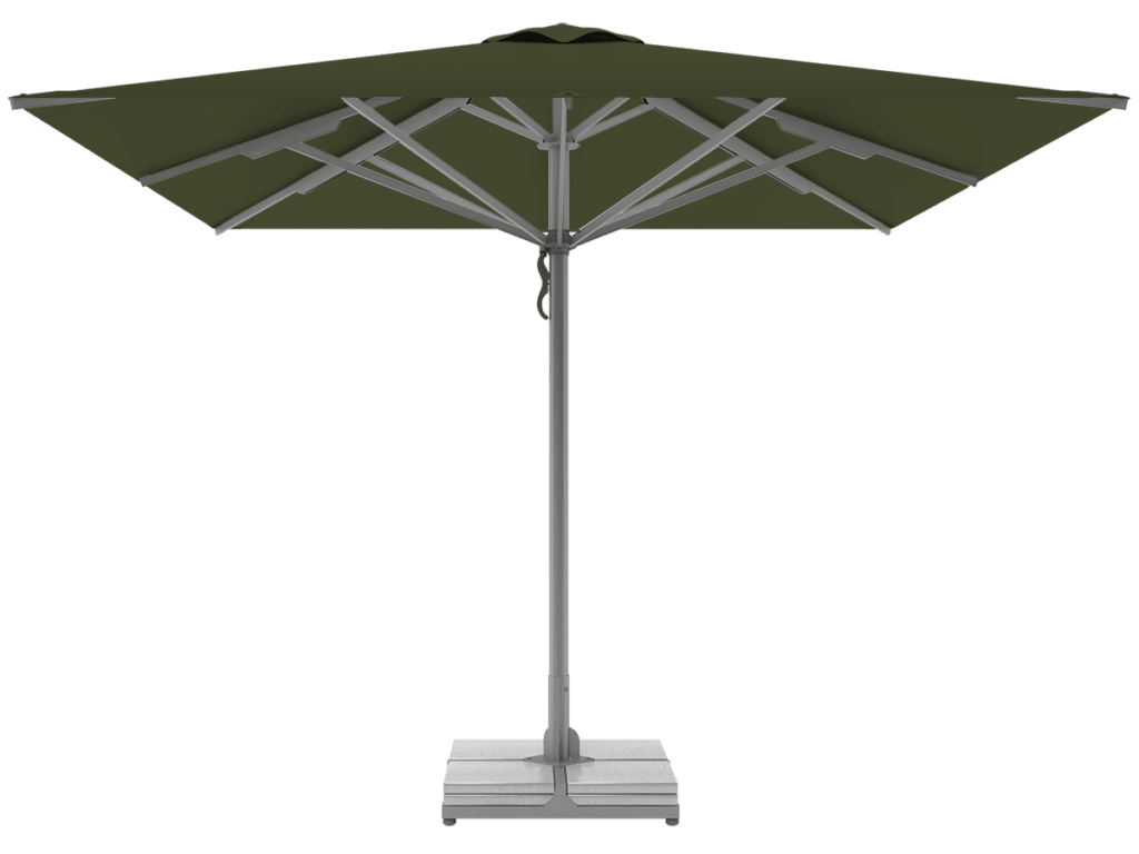 Telescopic Professional Umbrellas Queen Super Heavy Type reseda