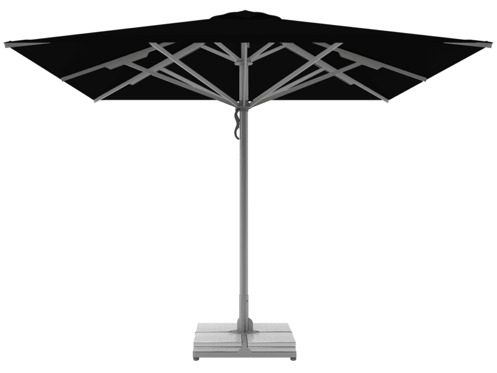 Telescopic Umbrellas Queen Super Heavy Type noir