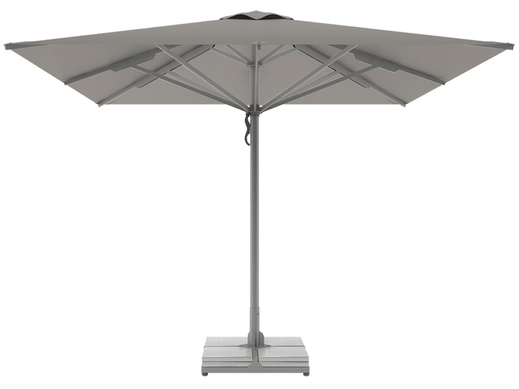 Professional Telescopic Umbrellas Queen Super Heavy Type gris