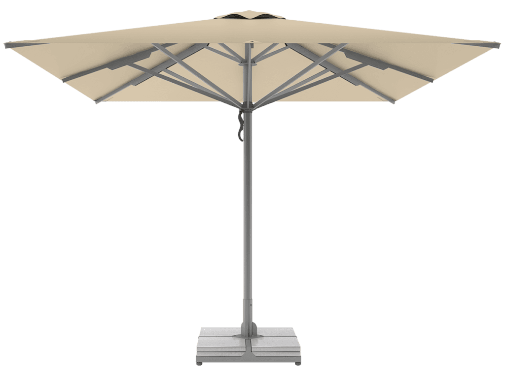 Professional Telescopic Umbrellas Queen Super Heavy Type vanille