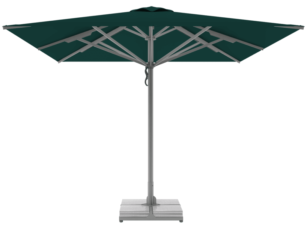 Telescopic Professional Umbrellas Queen Super Heavy Type foret