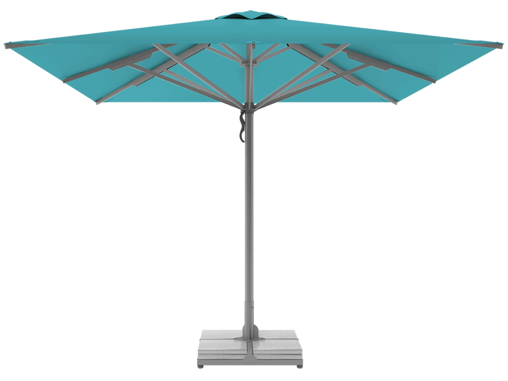 Professional Telescopic Umbrellas Queen Super Heavy Type turquoise