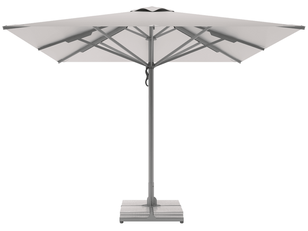 Professional Telescopic Umbrellas Queen Super Heavy Type gaphite