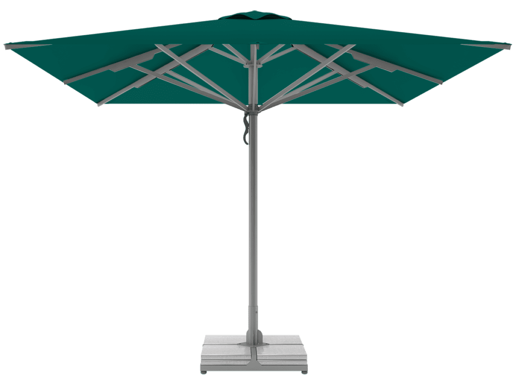 Professional Telescopic Umbrellas Queen Super Heavy Type emeraude