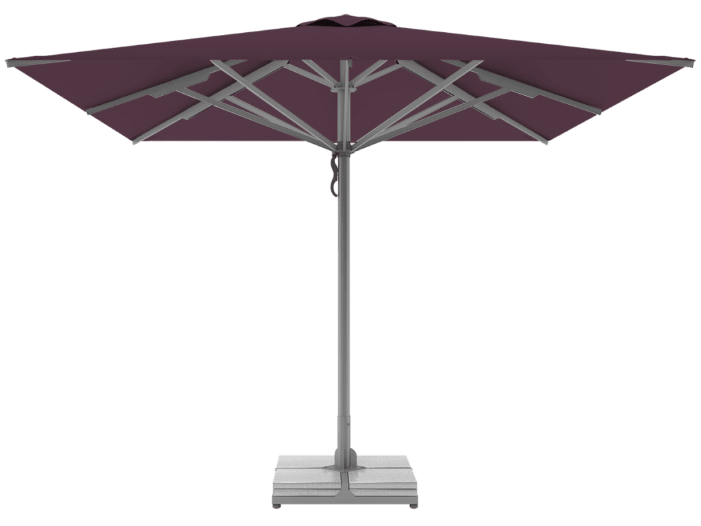 Telescopic Professional Umbrellas Queen Super Heavy Type cassis