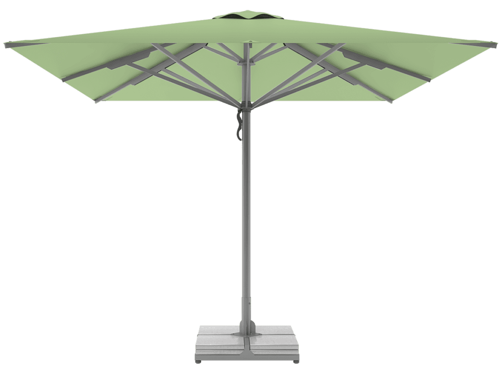 Professional Telescopic Umbrellas Queen Super Heavy Type menthe