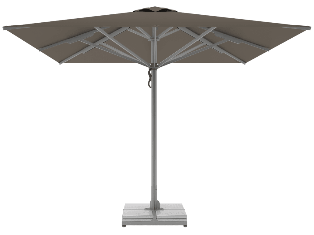 Professional Telescopic Umbrellas Queen Super Heavy Type taupe