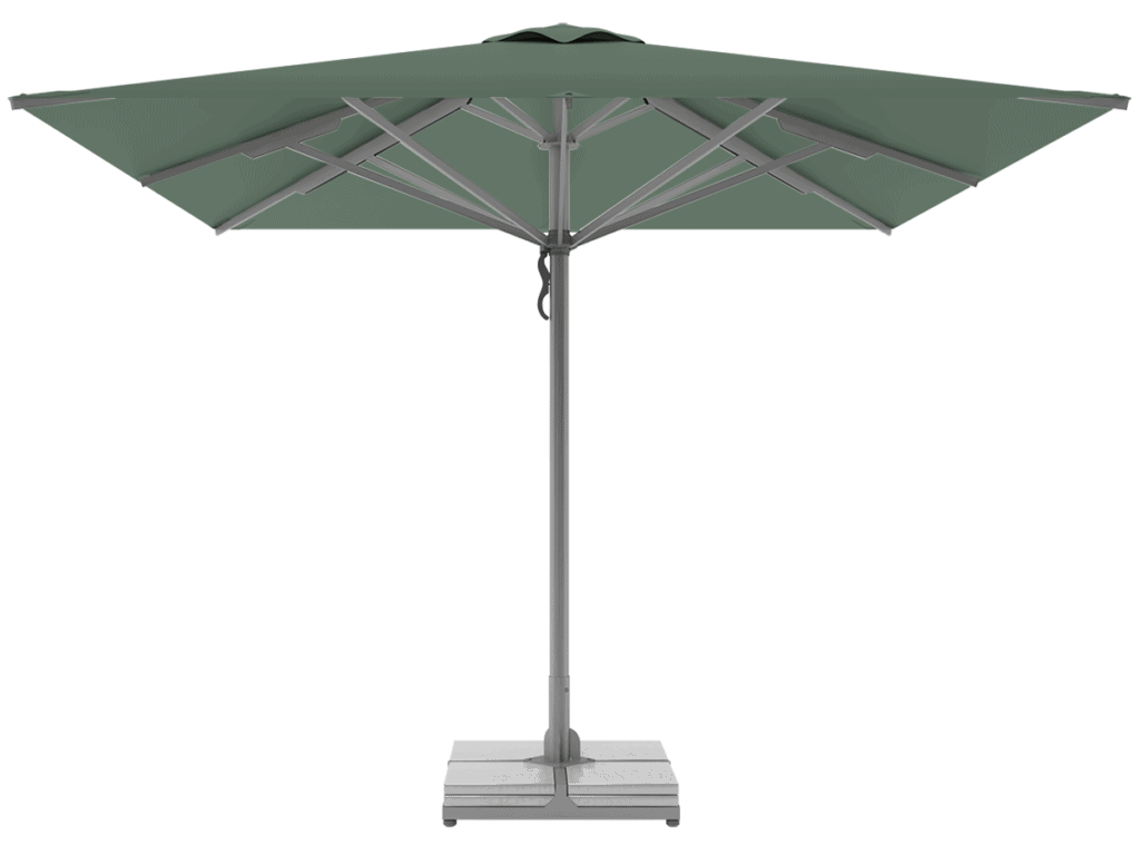 Professional Telescopic Umbrellas Queen Super Heavy Type fougere