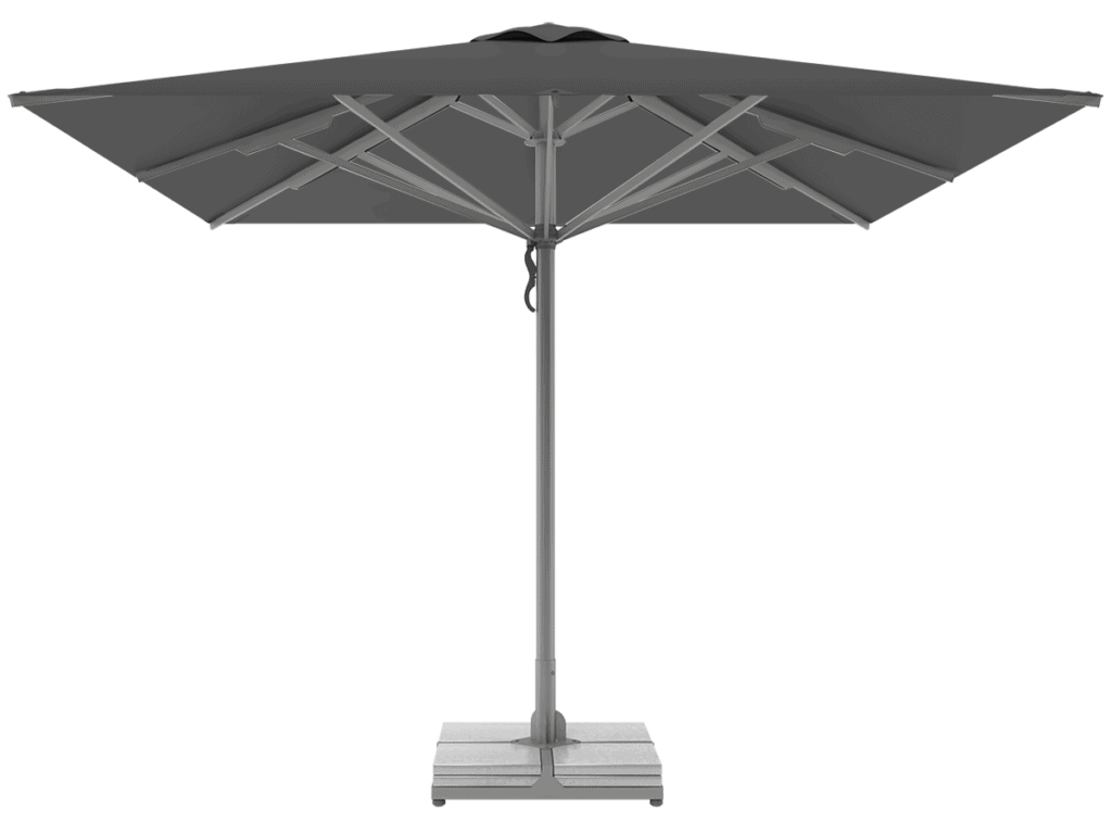Professional Telescopic Umbrellas Queen Super Heavy Type ardoise