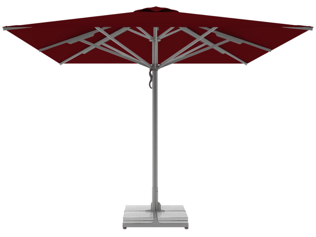 Telescopic Professional Umbrellas Queen Super Heavy Type bordeaux