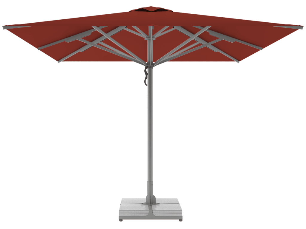 Telescopic Professional Umbrellas Queen Super Heavy Type chataign