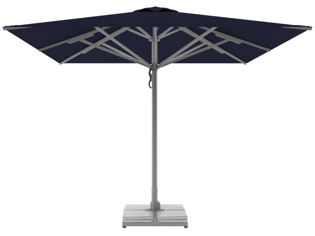 Professional Telescopic Umbrellas Queen Super Heavy Type bleuet