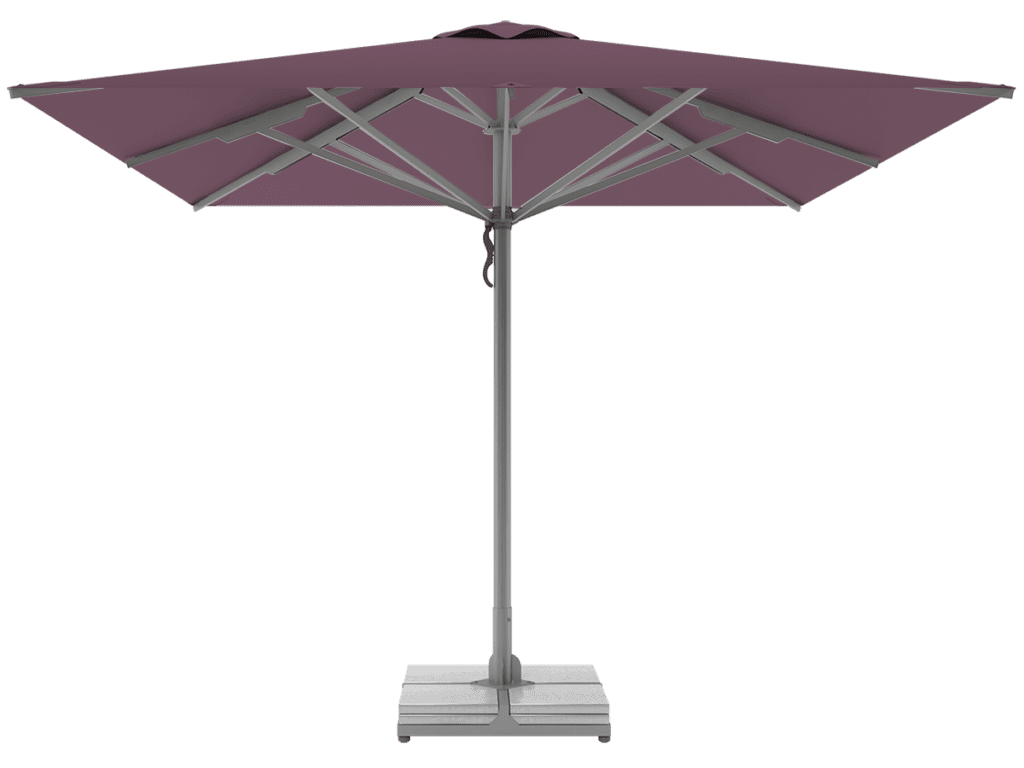 Professional Telescopic Umbrellas Queen Super Heavy Type mauve