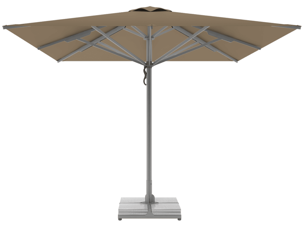 Professional Telescopic Umbrellas Queen Super Heavy Type bruyere