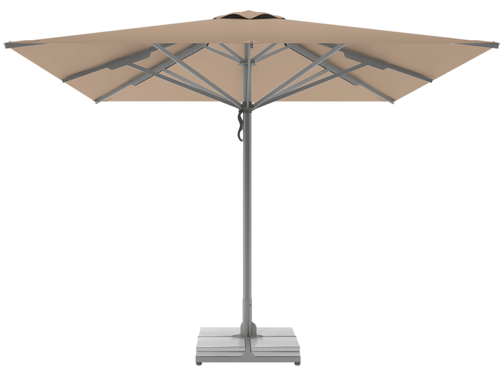 Telescopic Professional Umbrellas Queen Super Heavy Type beige