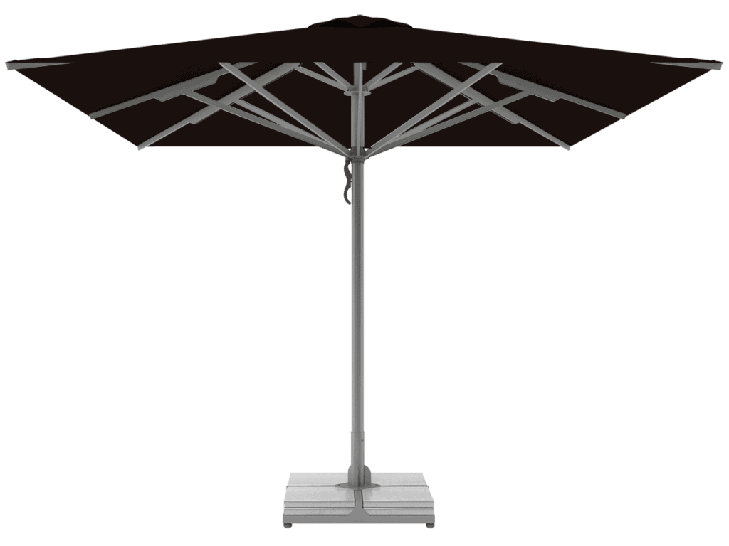 Professional Telescopic Umbrellas Queen Super Heavy Type chocolat