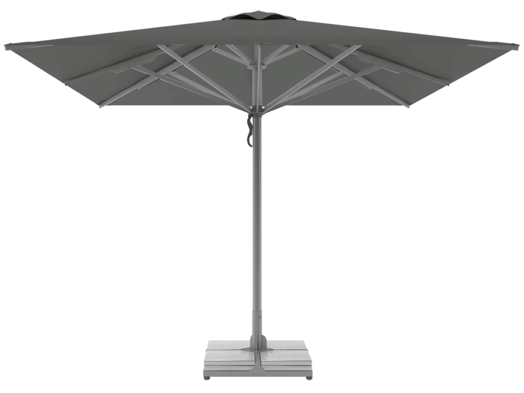 Professional Telescopic Umbrellas Queen Super Heavy Type flanelle
