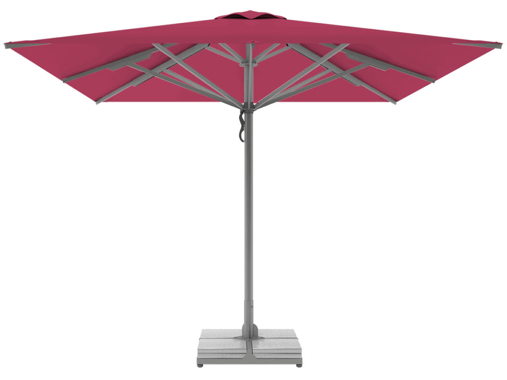 Telescopic Professional Umbrellas Queen Super Heavy Type pink