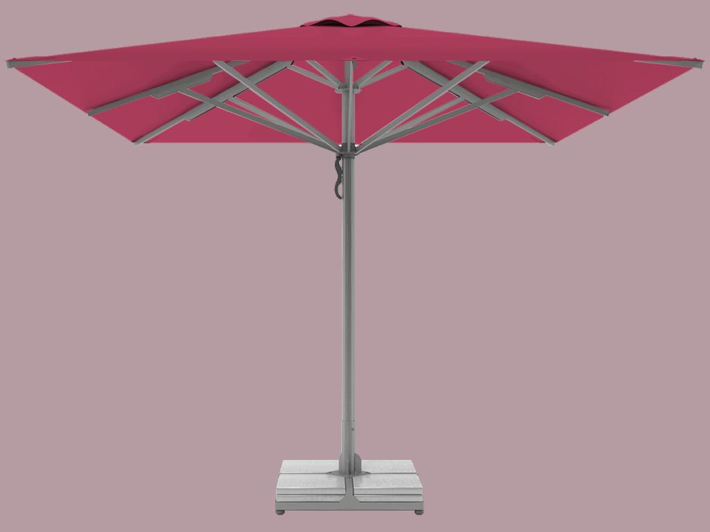 Τηλεσκοπική Ομπρέλα Επαγγελματική Queen Υπερ-Βαρέως Τύπου pink
