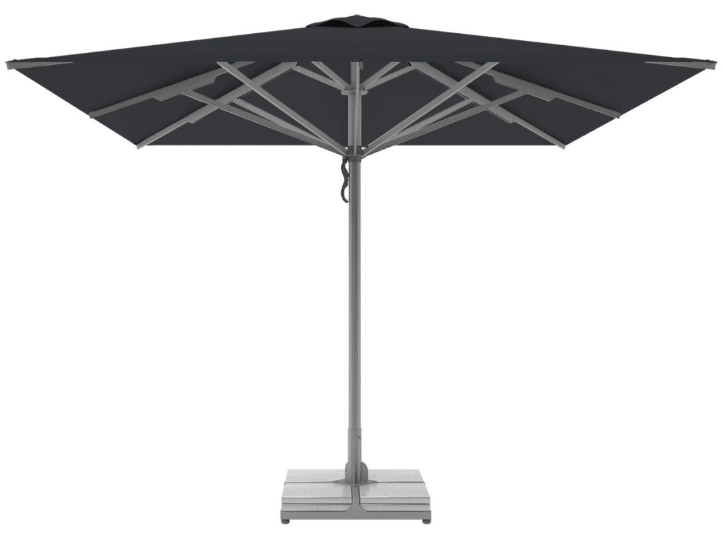 Telescopic Professional Umbrellas Queen Super Heavy Type carbone