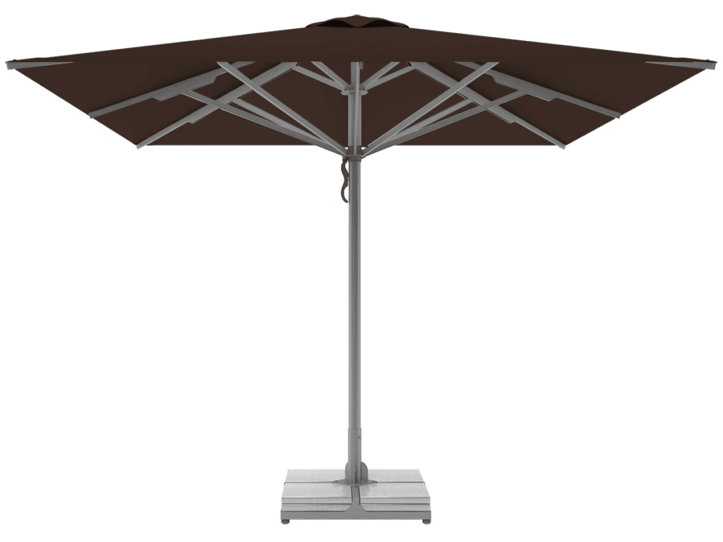 Professional Telescopic Umbrellas Queen Super Heavy Type brownie