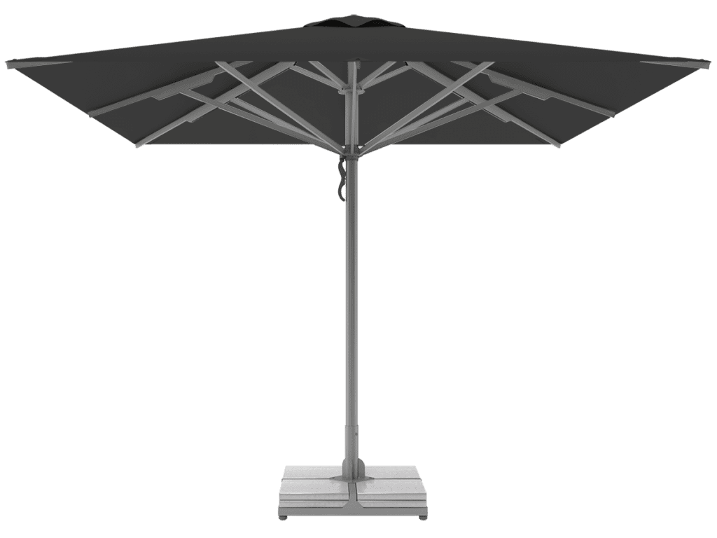 Telescopic Professional Umbrellas Queen Super Heavy Type macadam