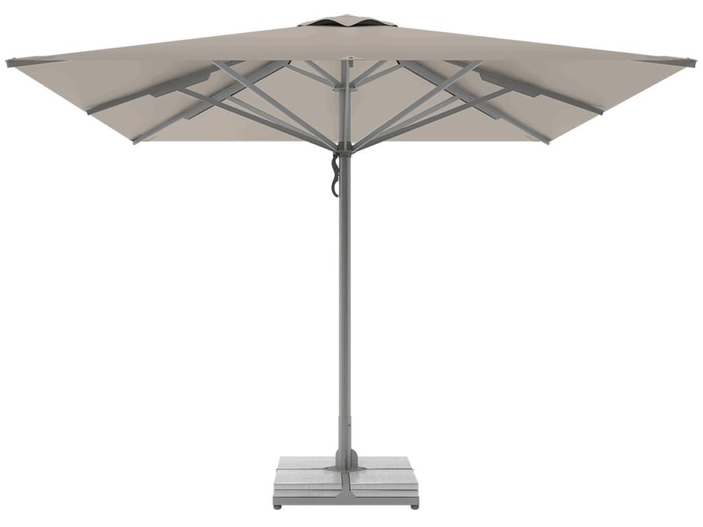 Professional Telescopic Umbrellas Queen Super Heavy Type argile