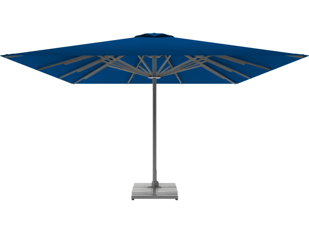 Telescopic Professional Umbrella Queen XL blue