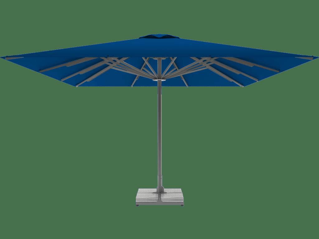 Telescopic Professional Umbrella Queen XL blue