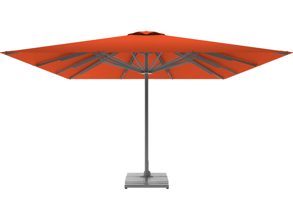Τηλεσκοπική Επαγγελματική Ομπρέλα Queen XL orange