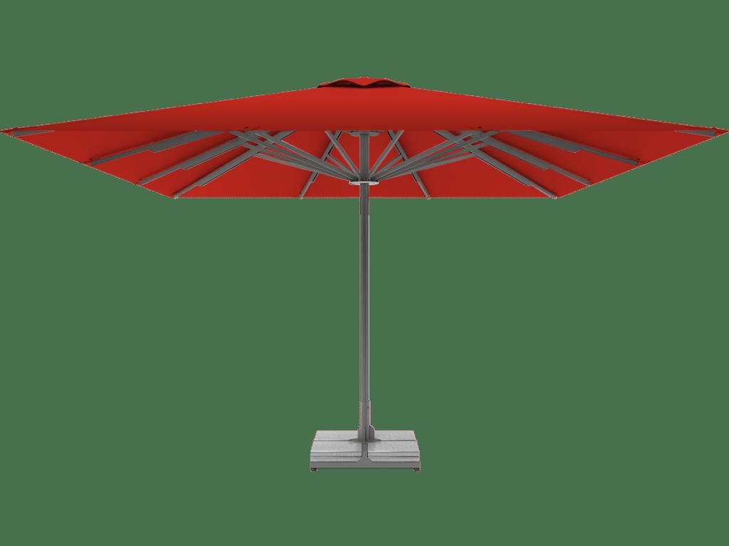 Professional Telescopic Umbrella Queen XL vermillion