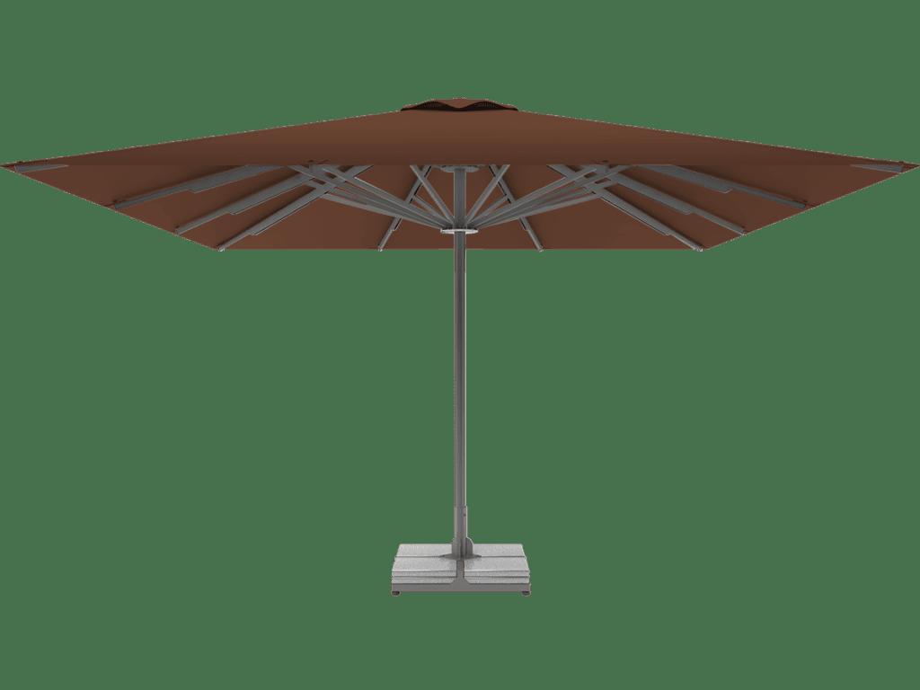 Professional Telescopic Umbrella Queen XL marron