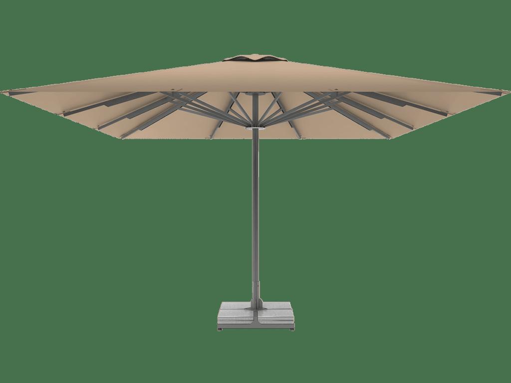 Τηλεσκοπικη Επαγγελματικη Ομπρελα Queen XL dune