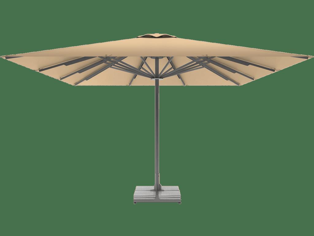 Telescopic Professional Umbrella Queen XL champagne