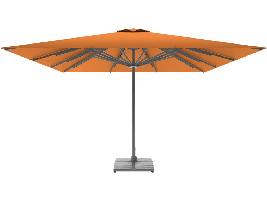 Τηλεσκοπικη Επαγγελματικη Ομπρελα Queen XL mandarine