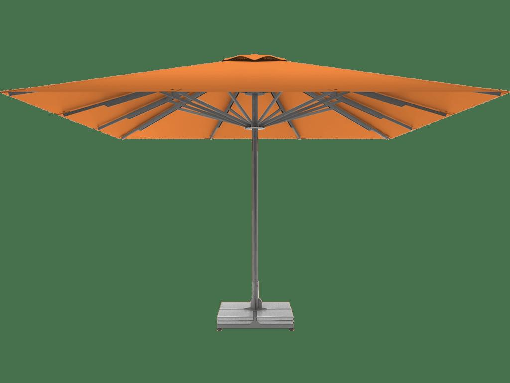 Telescopic Professional Umbrella Queen XL mandarine