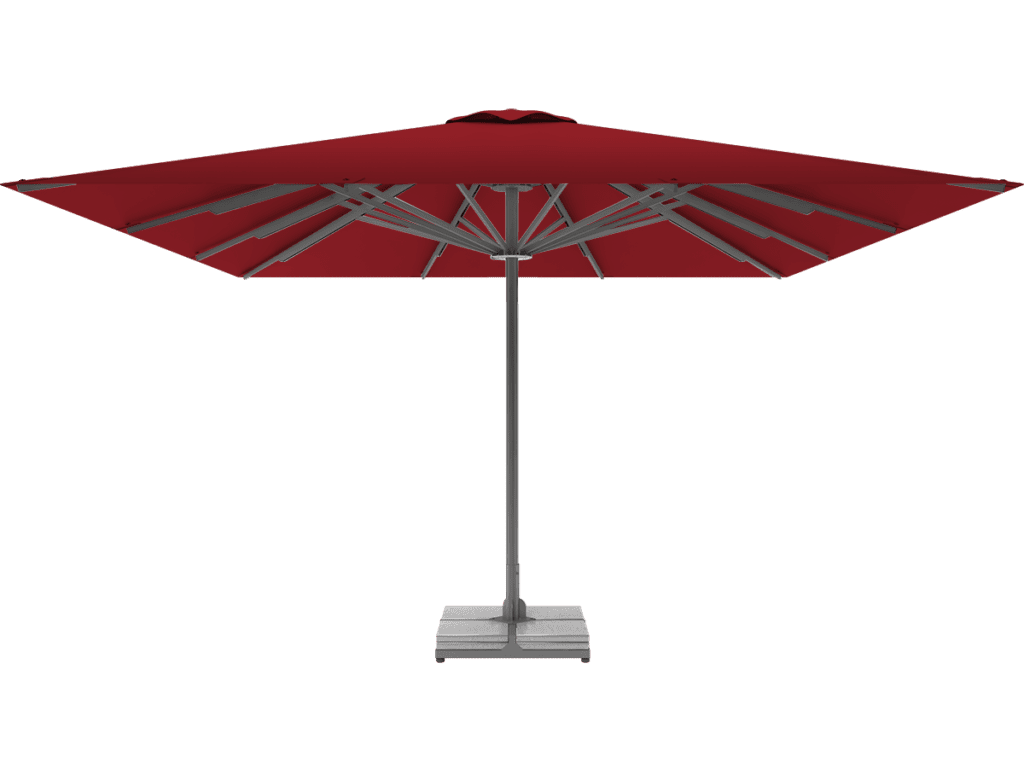 Professional Telescopic Umbrella Queen XL rouge