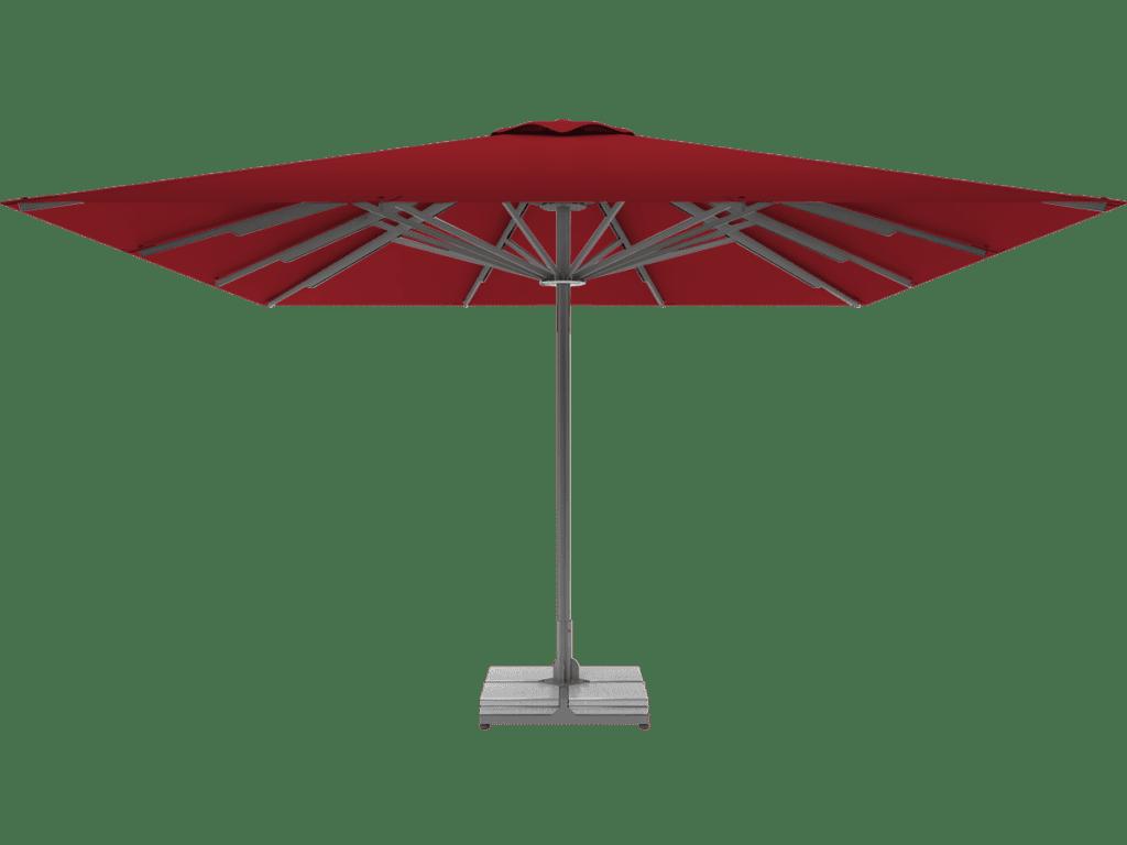 Professional Telescopic Umbrella Queen XL rouge