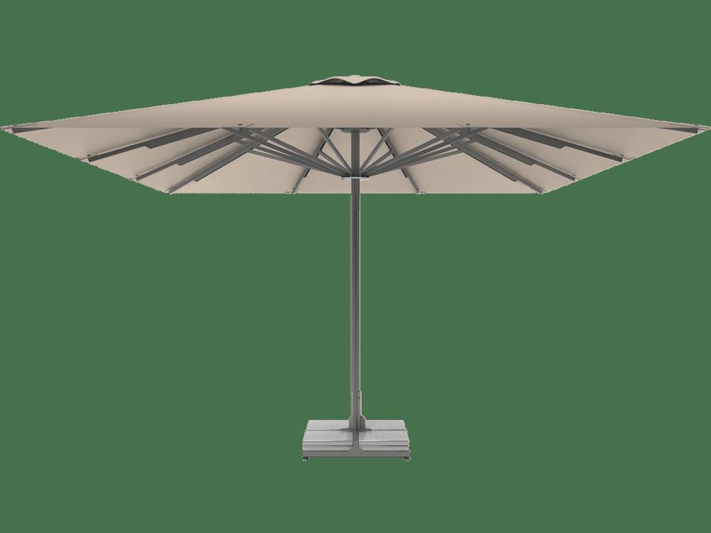 Professional Telescopic Umbrella Queen XL grege