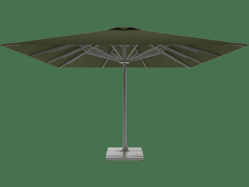 Professional Telescopic Umbrella Queen XL reseda